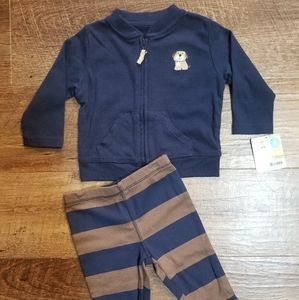NEW!!! Boys 2pc. Carters outfit sz.6mo